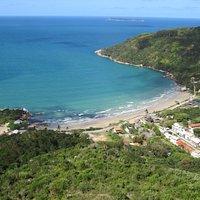 Vista da Praia da Conceição do Morro do Macaco