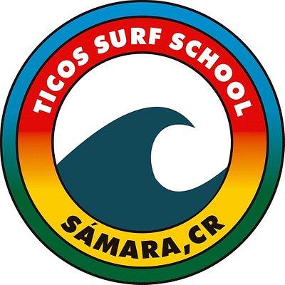 ticos surf logo