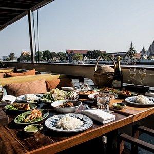 Authentic 6-Course Thai Dinner Cruise by Supanniga Cruise.