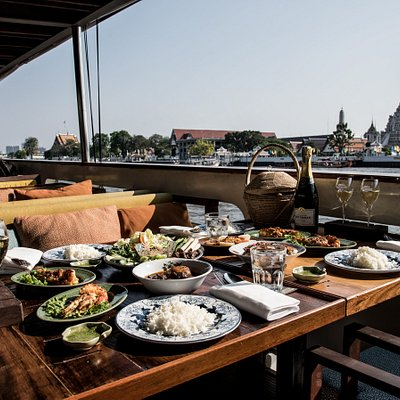 Authentic 6-Course Thai Dinner Cruise by Supanniga Cruise.