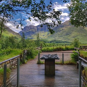 Step outside our visitor centre, and, what a viewpoint...