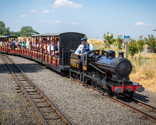 A full train on its way to Humberston Station (photo by David Enefer)