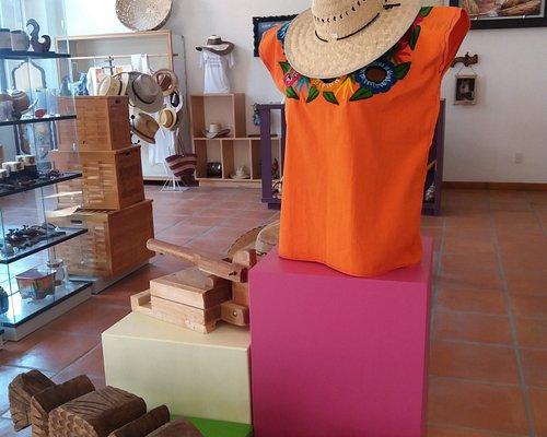 Tienda de artesanías en el Parador Turístico