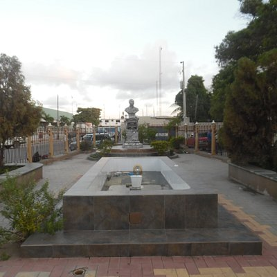 view of square from park