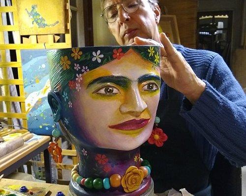 Cachepô Frida Kahlo