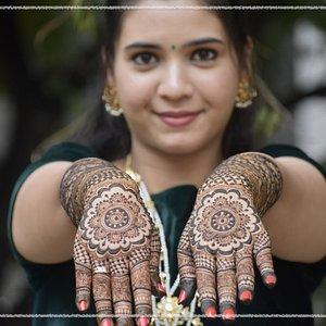 Bridal Mehndi by Pushpa Mehndi Arts