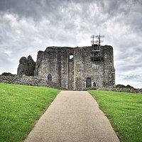 View from the path leading up to Dundonald Castle. Be careful, it's quite a climb, but worth it in the end.