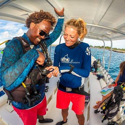 Fun on the boat!