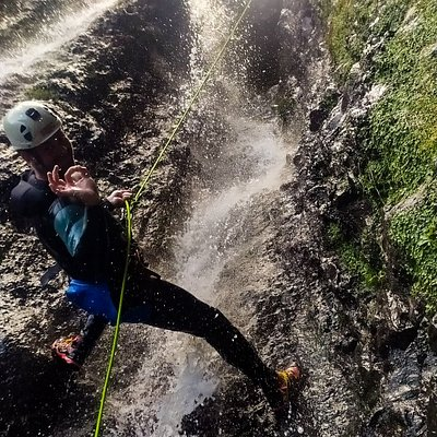 How awesome is canyoning?