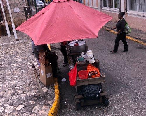 Street vendors all around the city