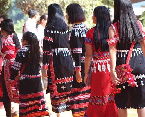 Lahu Village New Year Celebration