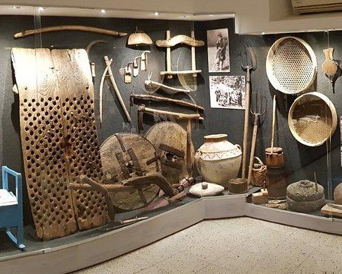Part of the Circassian Museum's exhibition wing - Zoher Thawcho Kfar Kama