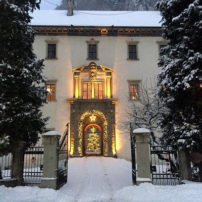 Palast Hohenems im Winter