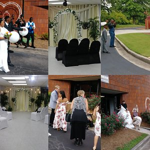 This is a Perfect facility for small to medium sized weddings and receptions.
