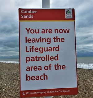 3.  Broomhill Sands, Camber, East Sussex