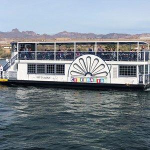 Sunny day aboard the Celebration!
