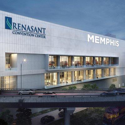 Renasant Convention Center virtual rendering
