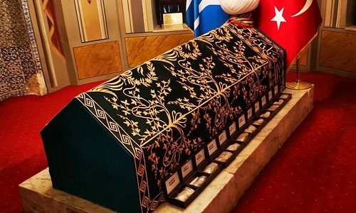 The is the place where Ertugrul son of Sulaiman Shah is buried