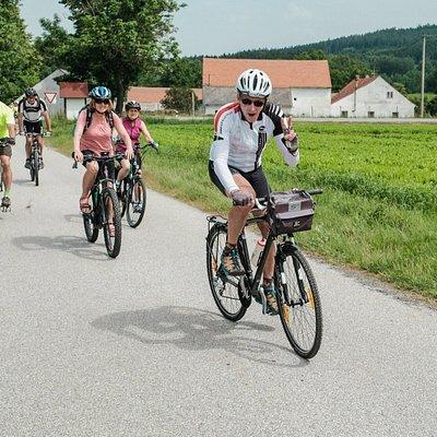 We love cycling!