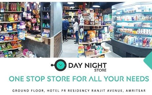 When food delivery services shut down, this late night hunger solution comes to the rescue...  Try the tasty hunger killers at the Day Night Store. We will always be there, no matter how late it gets as we are open 24x7. Walk-in to the store to enjoy your favorite snacks.