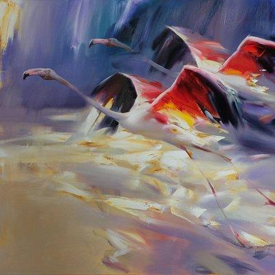 http://eastwestfineart.com/artist/oleg-kalaytanov/