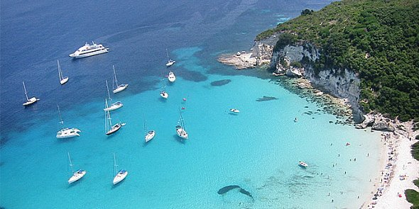 Antipaxi island