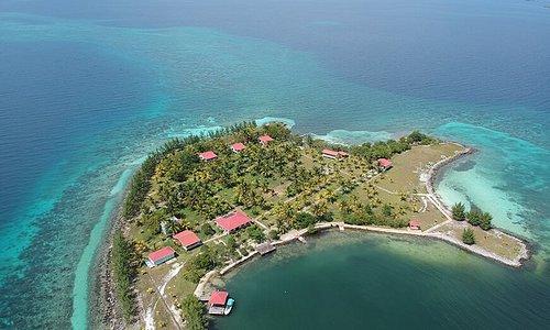 Beautiful turn-key island 9 miles off the coast of Placencia.