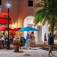 Restaurant and bar options at University Village