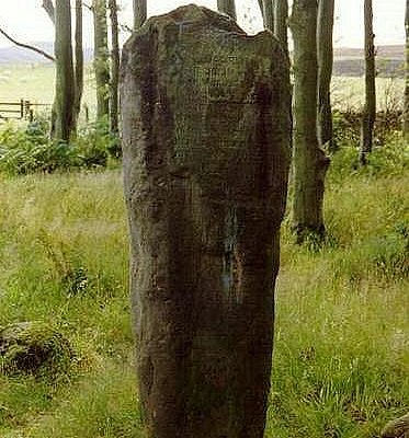 Millport standing stone