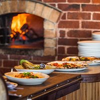 wood fired pizza and fresh pasta