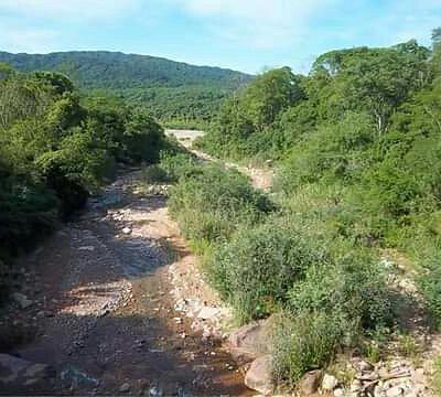 Rio San Lorenzo en el Parque Nacional Calilegua.