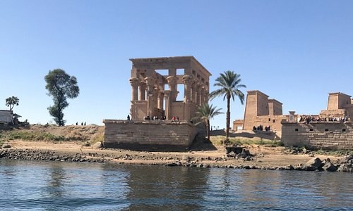 No place in the world is peaceful and unique like Aswan city  This photo is taken where I was on the natural felluca  What a great weather and atmosphere  ❤️❤️❤️