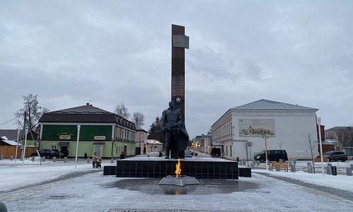 """Памятник """"Вечный огонь"""""""