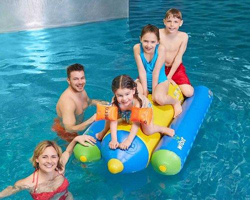 Spiel und Spass für die ganze Familie im Erlebnisbad