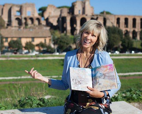 Palatine Hill & Circus Maximus on the Hidden Rome Driving tour