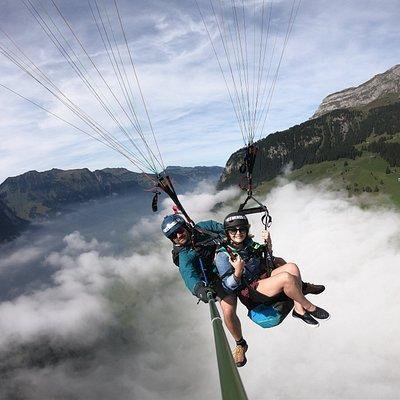 Paragliding Engelberg Brunni
