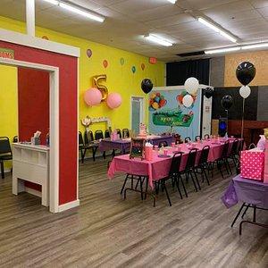 Birthday Party Center!