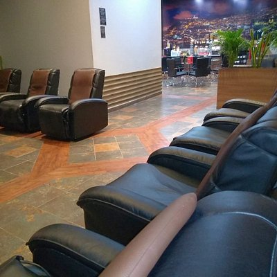 Comfortable lounge for a smooth layover