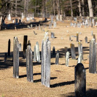 Quite a large old cemetery