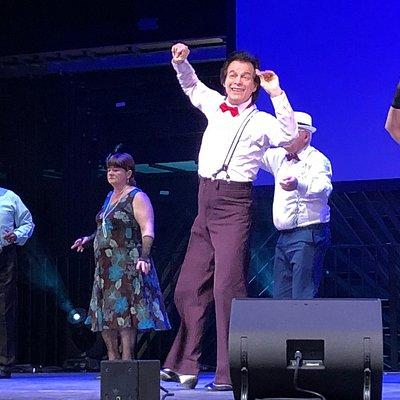 La troupe de danse des Séniors a déployé ses talents sur la scène de l'Espace Lino Ventura à Garges-lès-Gonesse