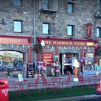 The Harbour Store is at the heart of Westport's beautiful harbour area