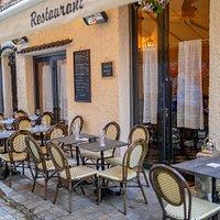Terrasse du café Brun de Cannes