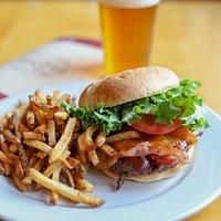 Our SingleTrack Burger