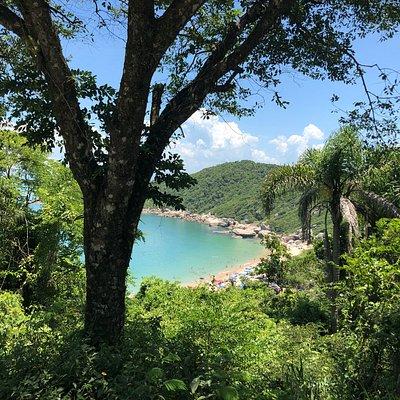 Mirante de acesso a Praia da Tainha