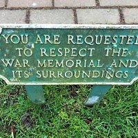 1.  Tenterden War Memorial