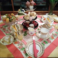 Nooks & Crannies delightful Afternoon Teas.