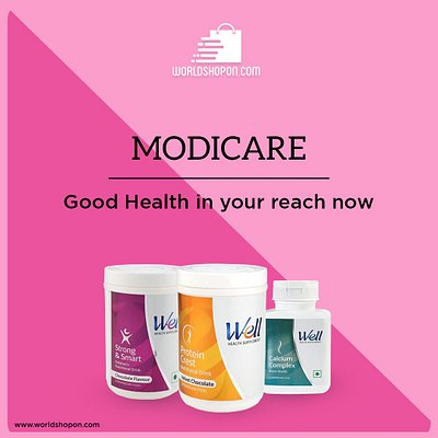Add to cart without further delay !!! Best deal available in all modicare products with latest manufacturing Date. Visit worldshopon.com Visit:- https://www.worldshopon.com/collections/modicare
