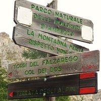 Ferrata degli Alpini - Indicazioni