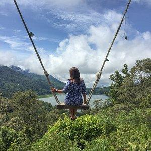 Nature Swing Danau Tamblingan