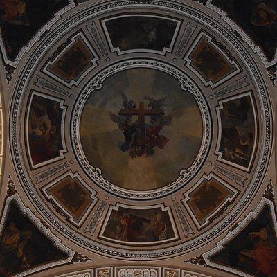 Cupola affrescata